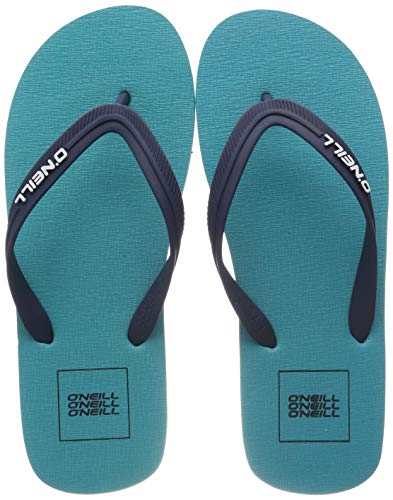 O'Neill Herren FM Friction Sandals Zehentrenner, Blau (Ceramic Blue), 44 EU