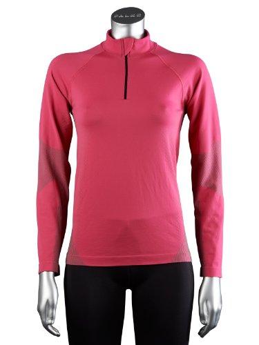 Falke t-Shirt de Course à Manches Longues pour Femme Large Rose - Rose