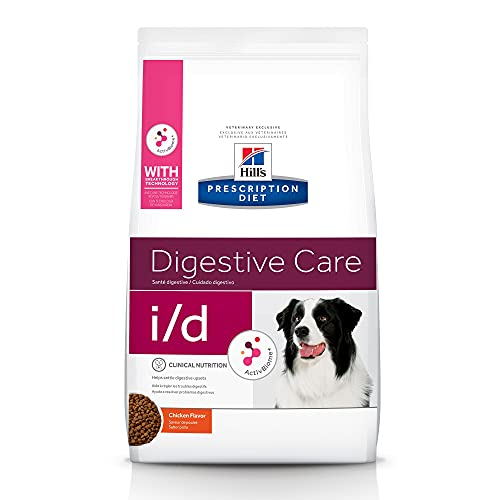 Hill s Prescription Diet i d Digestive Care Chicken Flavor Dry Dog Food, Veterinary Diet, 8.5 lb bag