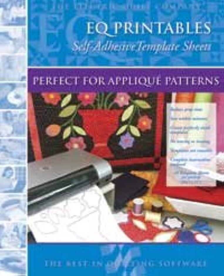EQ Printables Self Adhesive Template Sheets