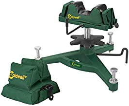 Caldwell The Rock Deluxe Front Rest Combo Adjustable Ambidextrous Rifle Shooting Rest for Outdoor Range