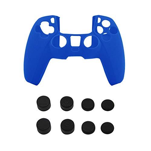 YOKING - Tapa de mango de mando de juego PS5, tapa de palanca avanzada de silicona