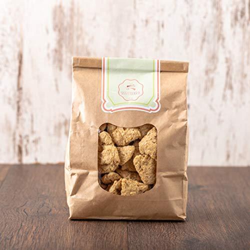 süssundclever.de® Bio Soja Medaillons | Soja-Protein | 700 g (2 x 350 g) | plastikfrei und ökologisch-nachhaltig abgepackt
