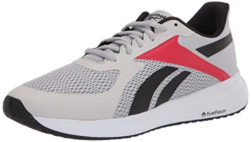 Reebok Men's Energen Running Shoe, Pure Grey/Black/Vector Red, 13