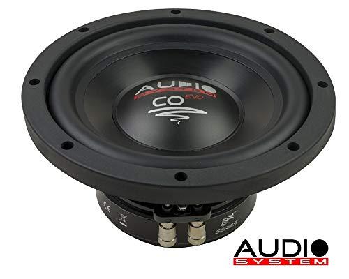Audio System CO 08 CO-Series 200mm/8 HIGH EFFICIENT WOOFER Subwoofer 20cm 180 Watt RMS