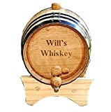 Personalized Mini-Oak Whiskey Barrel by JDS