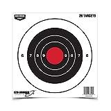 Birchwood Casey Eze-Scorer 8-Inch Bull's-Eye Paper Target - 26 Sheet Pack