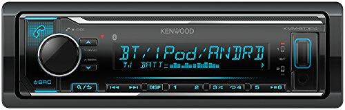 Kenwood KMM-BT304 Digital Media Receiver mit Bluetooth-Freisprecheinrichtung und Apple iPod-Steuerung schwarz