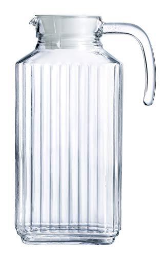 Luminarc 1.7-Liter (57 1/2-Ounce) Quadro 1.7-Liter Pitcher