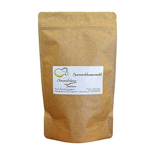 Bio-Sonnenblumenmehl | glutenfrei | vegan | Sonnenblumenkernmehl |- Inhalt 500g