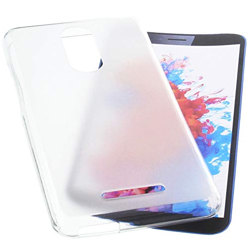 foto-kontor Hülle für TP-Link Neffos C7 Lite Tasche Gummi TPU Schutz Handytasche transparent