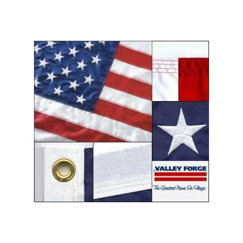 Valley Forge American Flag 2.5ft x 4ft Sewn Nylon Flag