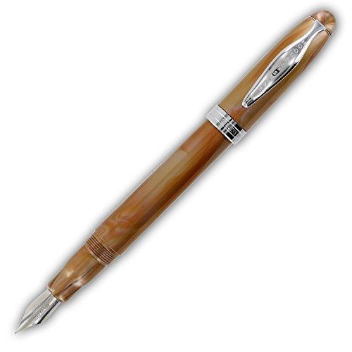 Noodler's Ink Ahab Piston Pluma estilográfica – Oro Midas Pearl Color Oro, Midas Pearl, B?roartikel