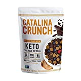 Catalina Crunch Chocolate Peanut Butter Keto Cereal (9oz Bags) | Low Carb, Sugar Free, Gluten Free, Grain Free | Keto Snacks, Vegan, Plant Based | Breakfast Protein Cereal | Keto Friendly Food