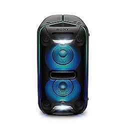 Créez l'ambiance idéale avec un éclairage stroboscopique, en ligne 3D et sur le haut parleur.Personnalisez l'éclairage et gérez la fête depuis la piste de danse grâce aux apps Sony Music et Fiestable La technologie EXTRA BASS renforce les sons de bas...