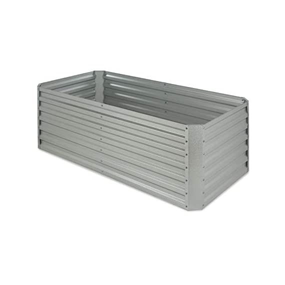Blumfeldt nova high grow garden bed: raised growing bed, material: wpc with uv, rust and frost protection, wood look… 1 weatherproof: sturdy frame construction lets this garden weather any storm. The bed is made of steel corrugated iron and is protected against weather with a special 120 g / m² zinc-aluminium weather-shield-coating. Fast installation: the installation of the blumfeldt raised bed is straightforward and fast. Versatile: tasty, fresh and local: with this raised garden bed you can grow a variety of fruits and vegetables.