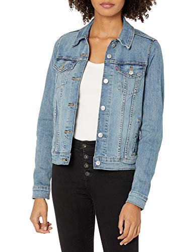 Levi's Women's Original Trucker Jacket, Jeanie, Medium