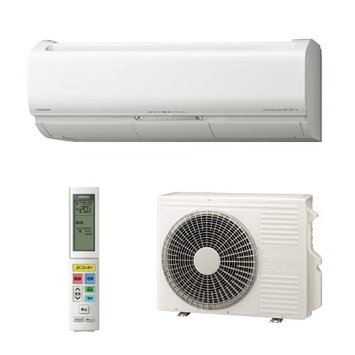 【商品配送のみ】日立 エアコン 10畳 2.8kW 白くまくん Xシリーズ RAS-X28L(W)/SET 凍結洗浄 Premium ファン・ロボ カビバスター 室内機室外機セット(2梱包)