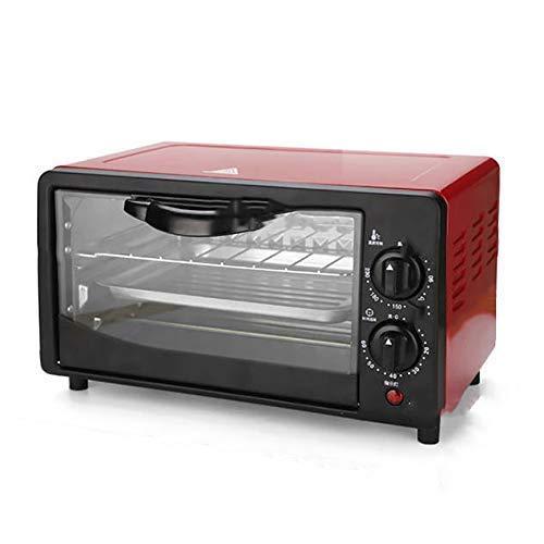 Ofen 12L Rot Kleiner Ofen Double-Layer Multifunktionale Automatische Elektro-Ofen backt Kuchen Ofen Home Küche (Größe: 35 25.5. Peng