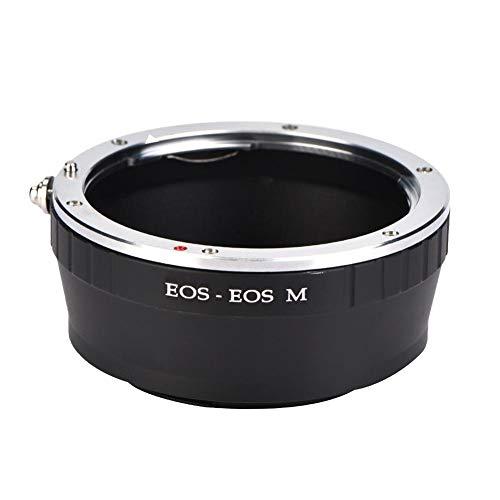 EBTOOLS EOS-EOS M Adattatore obiettivo, adattatore per montaggio obiettivo Messa a fuoco manuale per obiettivo Canon EOS EF per fotocamera mirrorless Canon EOS M