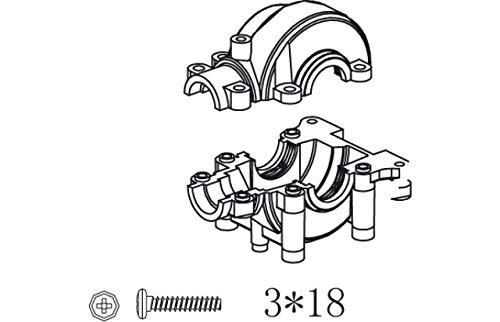 Jamara jamara505075Gear Box Set für Spannung/Major Buggy