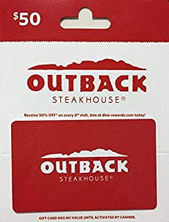 value of outback gift card