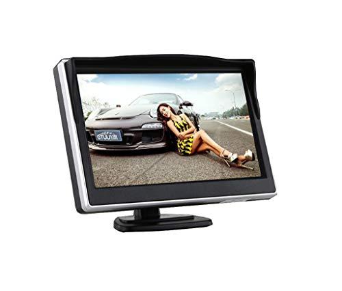 5-pouces de voiture d'affichage de recul avec pare-soleil, voiture HD inversion prioritaire LCD affichage, convient pour les camions, bus
