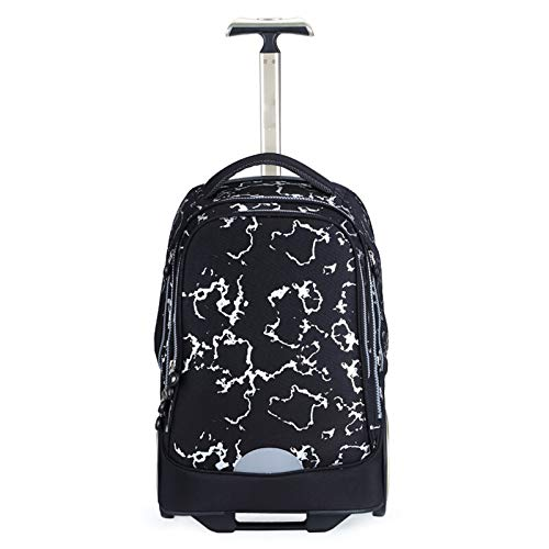 FREETT Business Trolley Suitcase, Men Luggage Case Bag, Wheeled Laptop Case, for Student Travel and University, Black, 32 * 23 * 48 cm