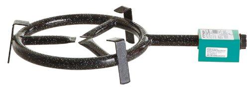 Paella-Gasbrenner, 1-Brennring, Ø 30 cm, Leistung 6.5 kW bei 30 mbar. Ideal für Paella Pfannen, Paella Grill, Gussgrillplatten, Woks, Töpfe usw.