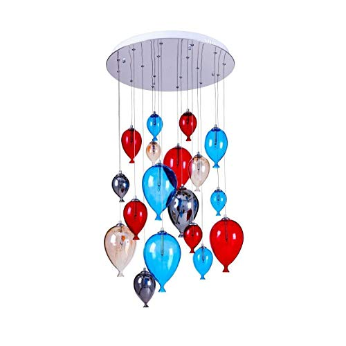 Suspension Multicolore Balloon, 18x G4-20w, Ip20, 230v, Classe I