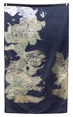 Calhoun Game of Thrones Wall Banner (30' by 50') (Westeros Map)
