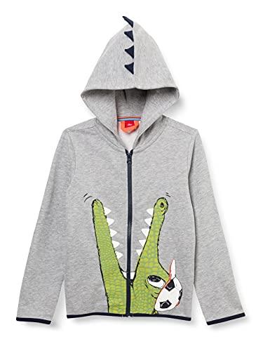 s.Oliver Junior Jungen 404.10.103.14.150.2060607 Sweatshirt, Grey, 104/110
