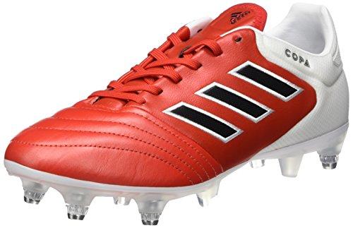 adidas Copa 17.2 SG, Scarpe da Calcio Uomo, Rosso (Red/Core Black/FTW White), 39 1/3 EU