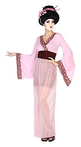 Atosa-38632 Disfraz Geisha, Color Rosa, M-L (38632)