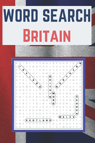 Word Search, all about Britain!
