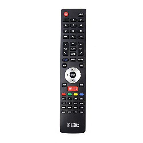ZdalaMit EN-33922A EN-33925A Replacement Remote Control fit for Hisense TV EN-33926A 32K20DW 40K366WN 50K610GWN 32K366W 40K366WB 46K360MLHD 32K366WUS 55K610GW 50K610GW...