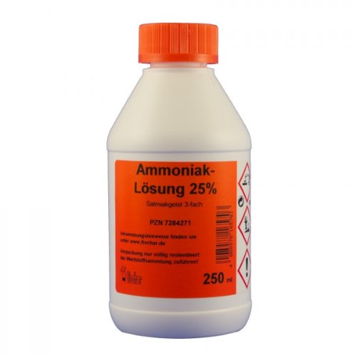 Ammoniaklösung 25 % 250 ml