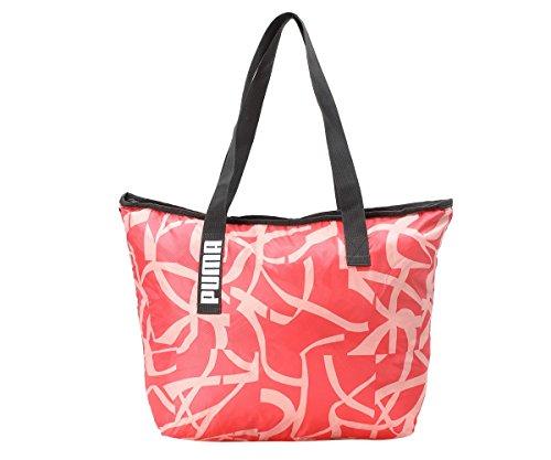 PUMA Core Active Shopper Tasche, Paradise Pink/Phantom Black/AOP, 45x1x35 cm