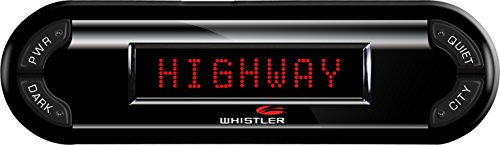 Why Should You Buy Whistler PRO-3700 High Performance Laser Radar Detector: 360 Degree Protection an...