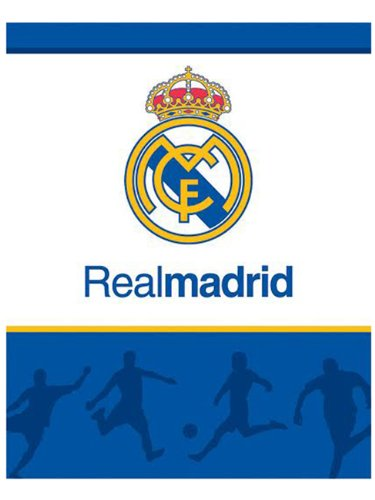 Real Madrid manta polar Fleecedecke 120x150cm RM1008