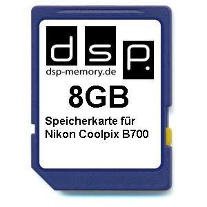 Tarjeta de Memoria de 8 GB para Nikon Coolpix B700.