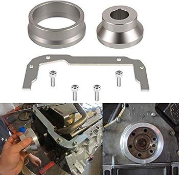 Front and Rear Cover Billet Alignment Tool & Oil Pan Alignment Tool Kit for LS Series Engines 4.8 5.3 5.7 6.0 LS1 LS2 LS3 LS6 L99 LS9 LSA LQ4