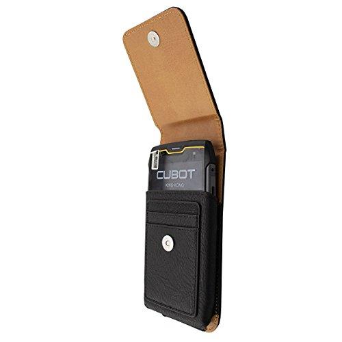 caseroxx Handy Tasche Outdoor Tasche für Cubot King Kong, mit drehbarem Gürtelclip in schwarz
