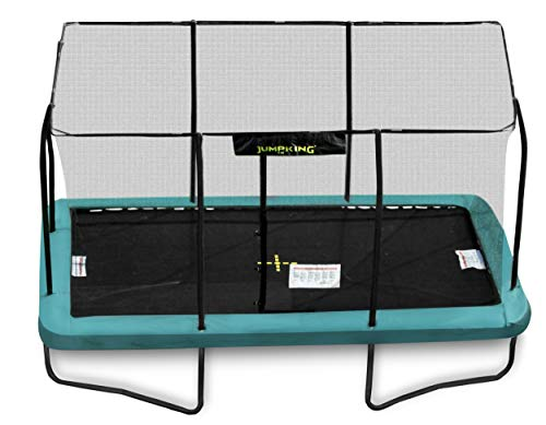 Jumpking Rectangular 12ft x 17ft Trampoline with Enclosure - New for 2016