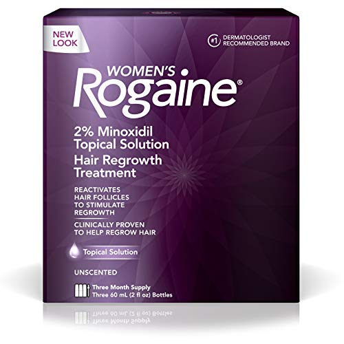 Rogaine Hair Regrowth Treatment for Women, 2 Ounce