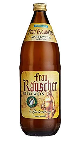 Possmann Frau Rauscher Apfelwein naturtrüb 1,0 ltr. 0,15€ MEHRWEG Pfand
