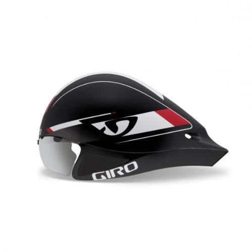Giro Selector Triathlon Zeitfahrhelm schwarz/rot 2013: Größe: M/L (55-61cm)