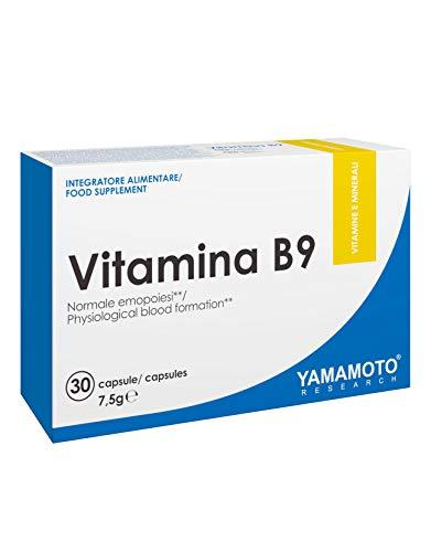 Yamamoto Research Vitamina B9 30 Capsule - 50 Gr