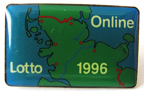 Online Lotto 1996 - Pin 25 x 15 mm