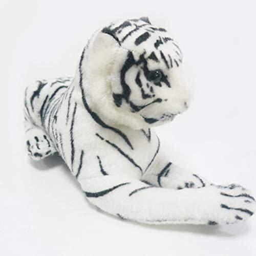 Knuffels 1pcs 26cm Cute pluche Witte Tijger van de Sneeuw Gevulde Speelgoed Poppen Dieren Kussens Childs Baby Kids Gifts dljyy